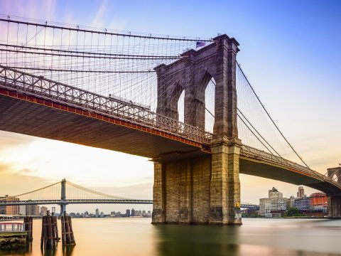 Brooklyn Bridge; Courtesy of Sean Pavone/Shutterstock.com