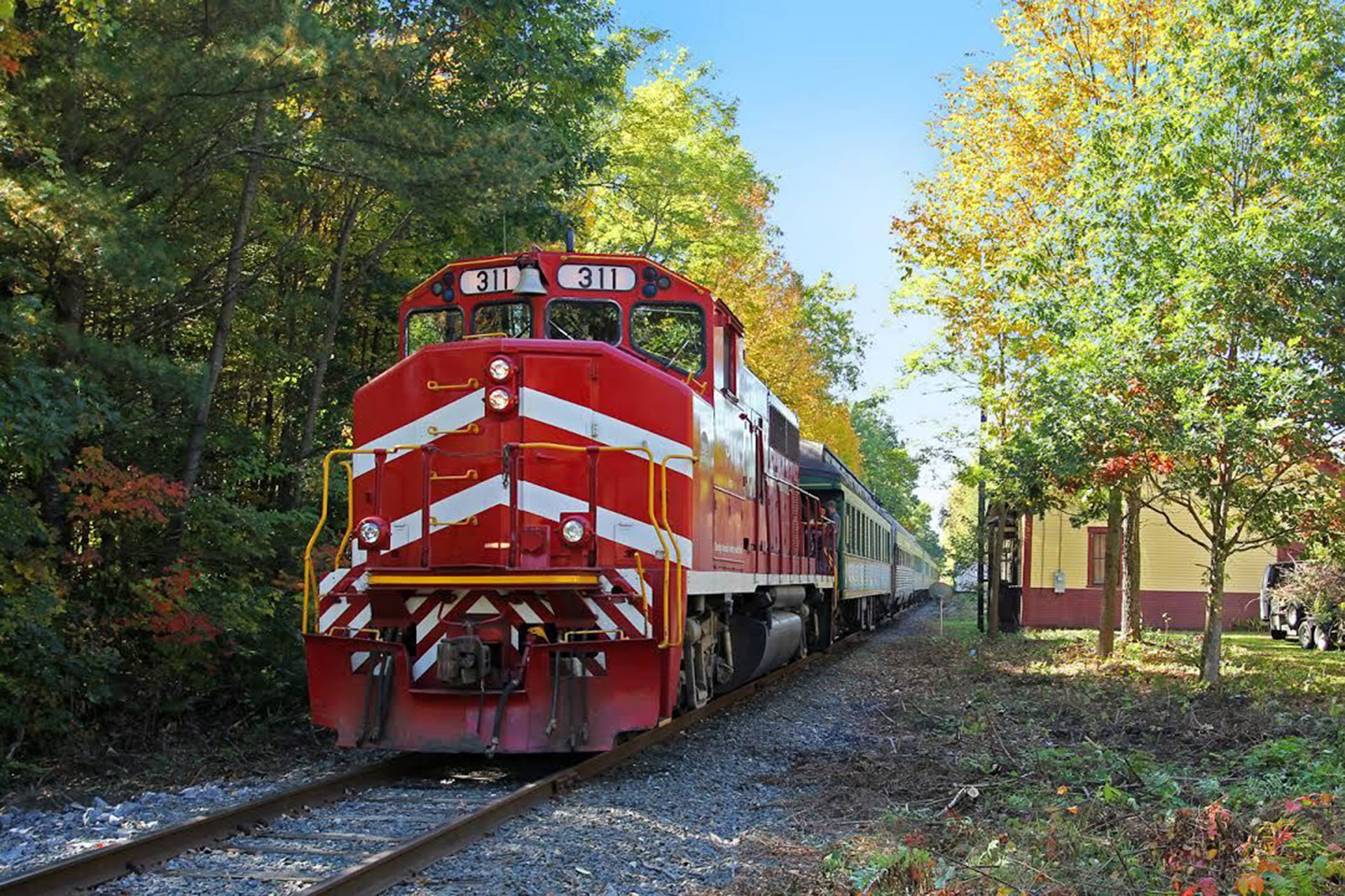 Green Mountain Railroad; Courtesy of Green Mountain Railroad