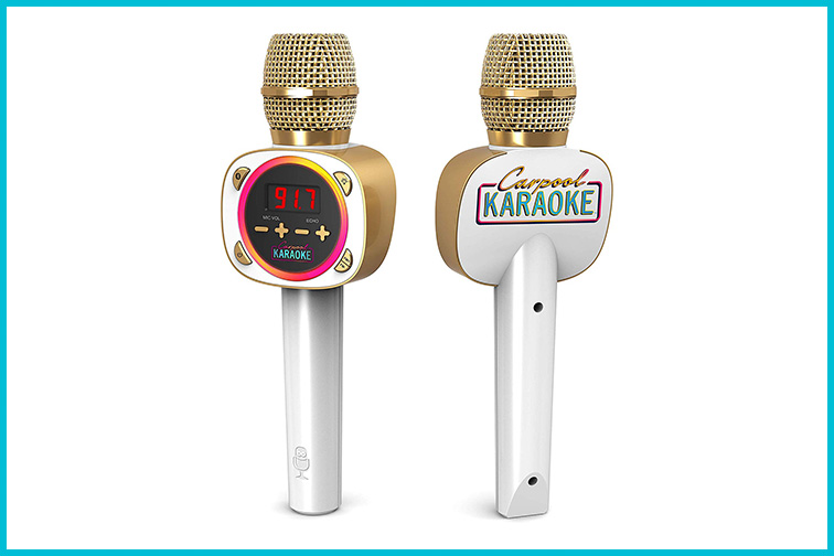 Carpool Karaoke Microphone; Courtesy of Amazon