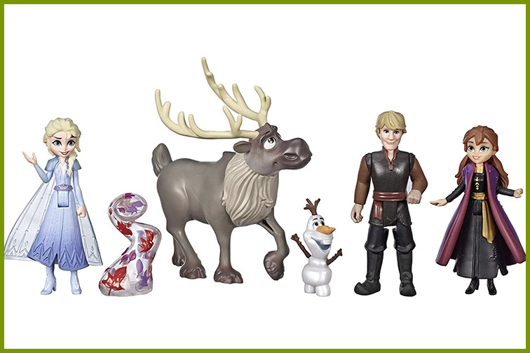Disney Frozen 2 Adventure Collection Doll Set; Courtesy of Amazon
