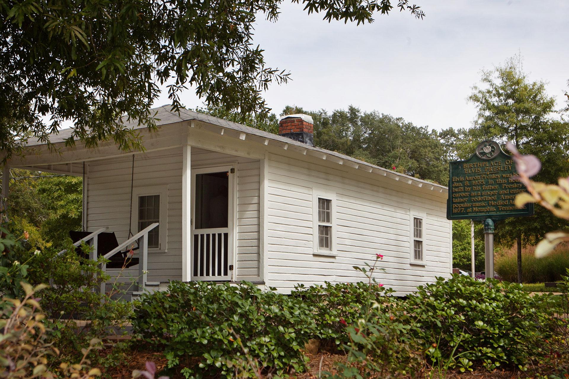 Elvis Presley Birthplace; Courtesy of Visit Tupelo