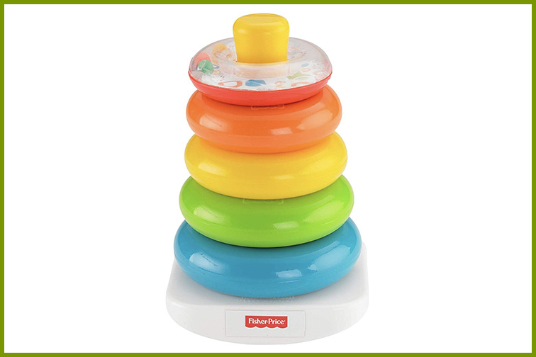 Fisher-Price Rock-a-Stack; Courtesy of Amazon