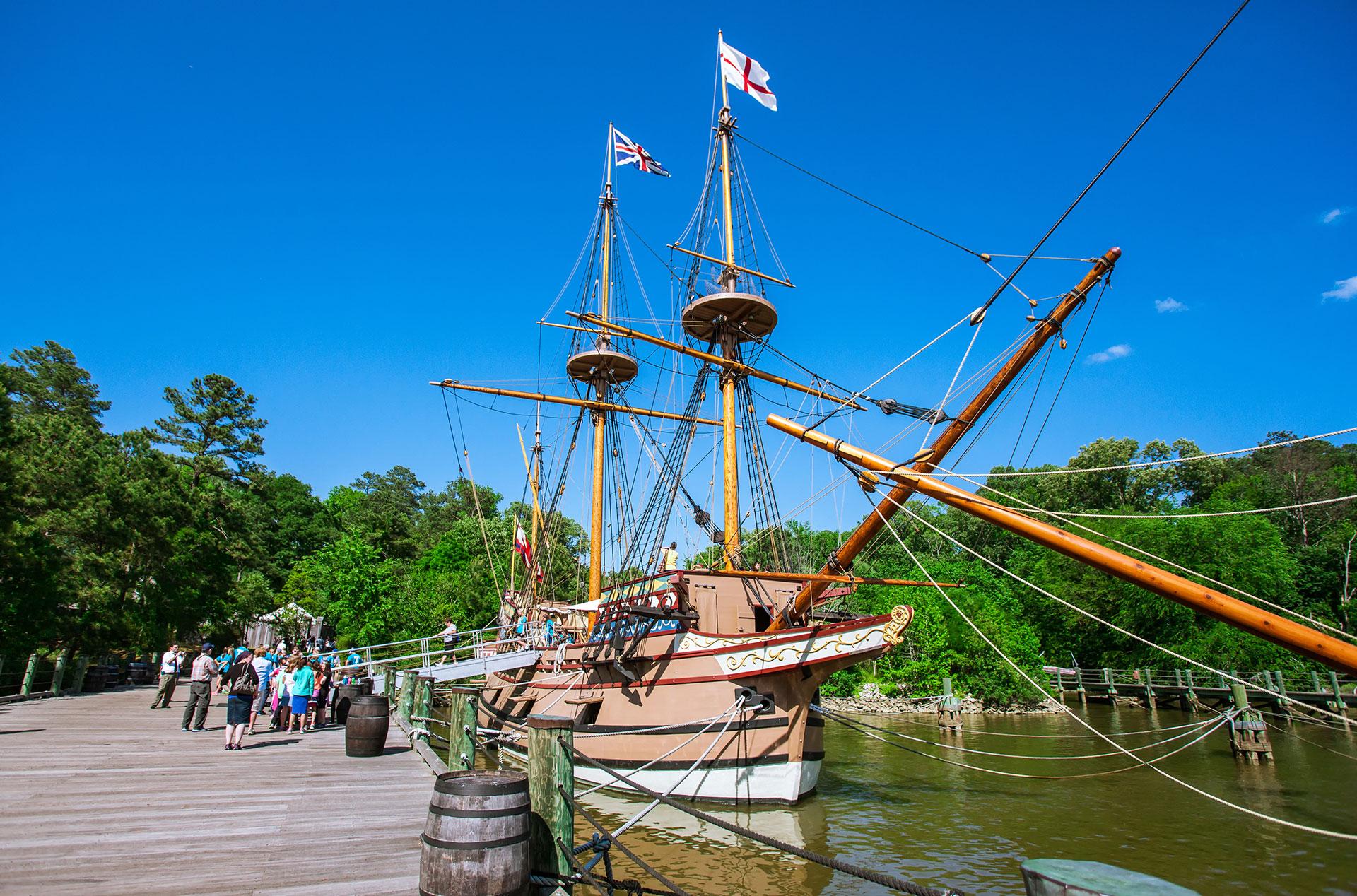 Jamestown Settlement; Courtesy of Travel Stock/Shutterstock.com