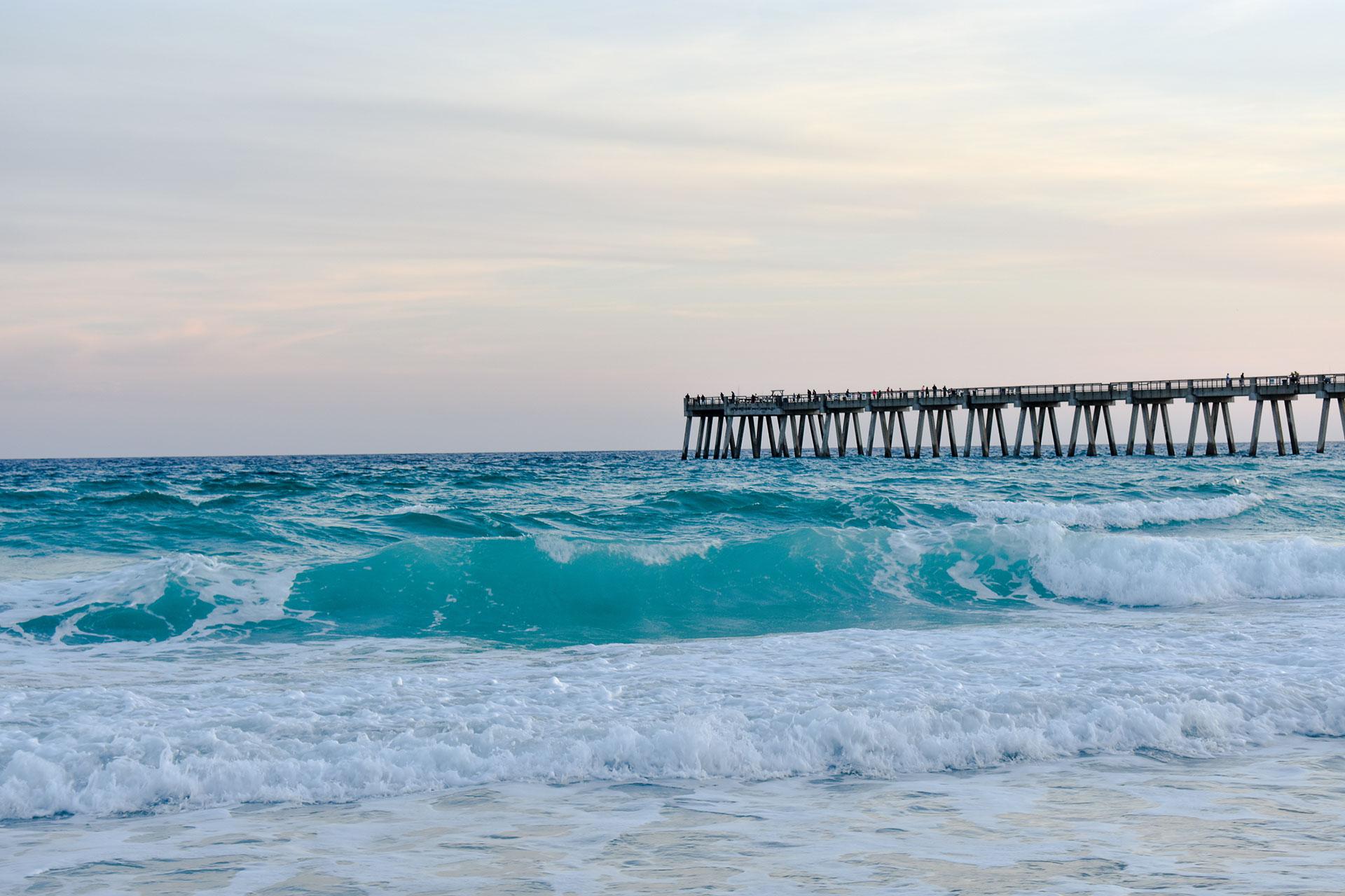 Navarre Beach, Florida; Courtesy of Zeeonenonly/Shutterstock.com