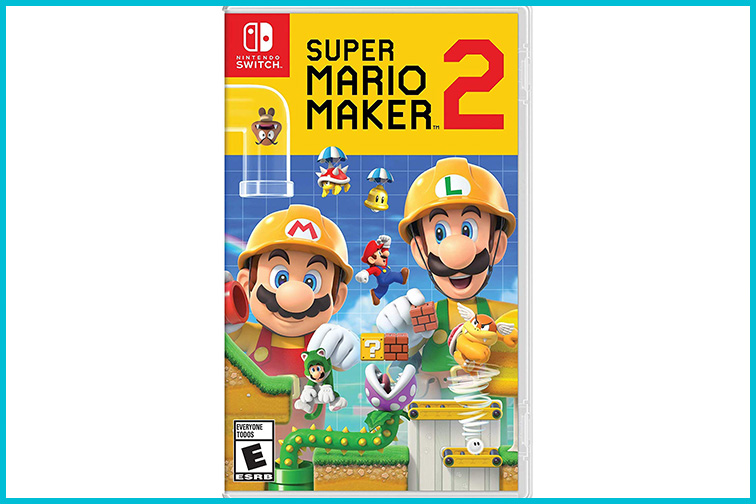 Nintendo Switch Super Mario Maker 2; Courtesy of Amazon