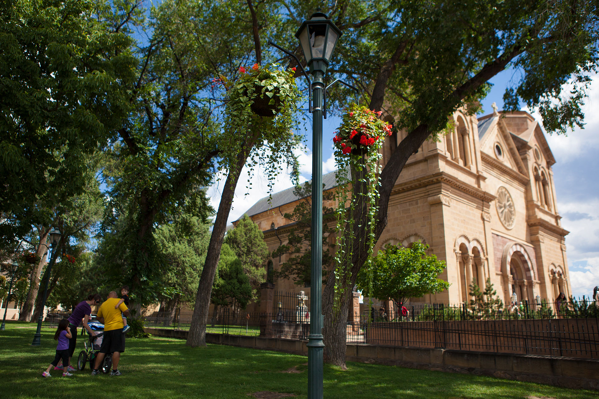 Santa Fe Plaza and Buildings; Courtesy of Tourism Santa Fe