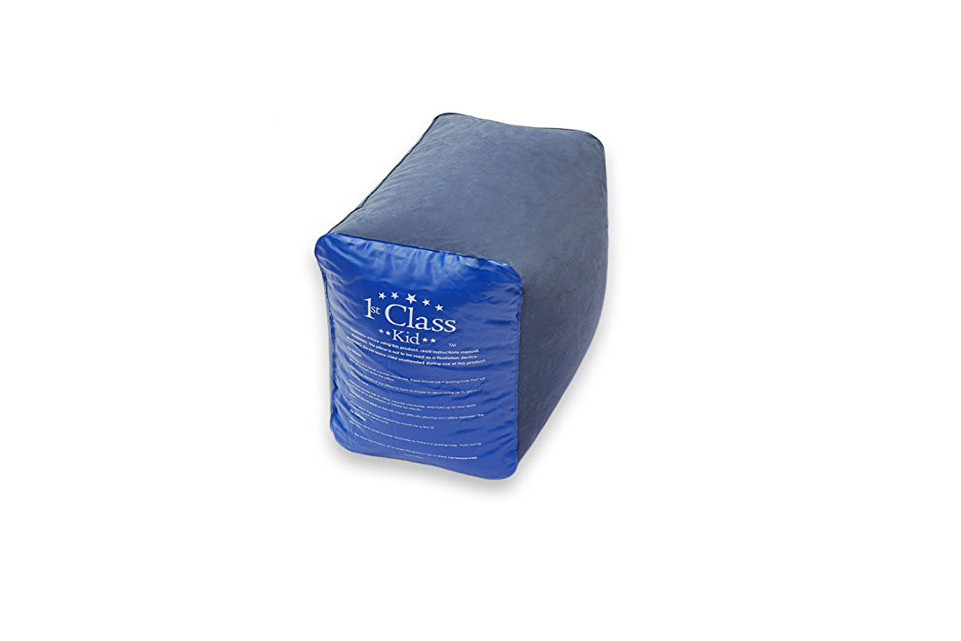 1st Class Kid Travel Pillow Inflatable Footrest