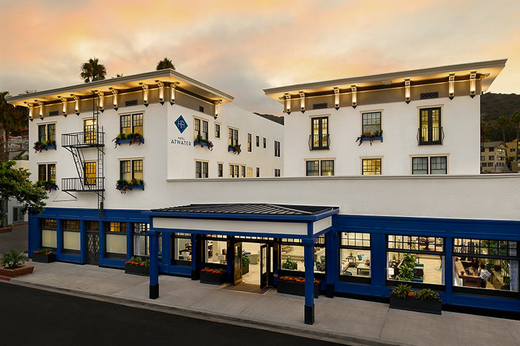 Hotel Atwater in Catalina Island; Courtesy of Hotel Atwater
