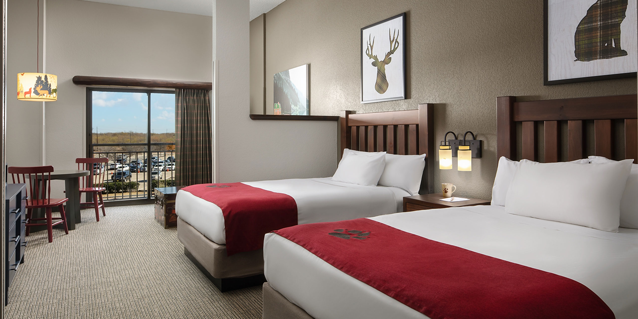 Guestroom Renovations at Great Wolf Lodge in the Pocono Mountains; Courtesy of Great Wolf Lodge