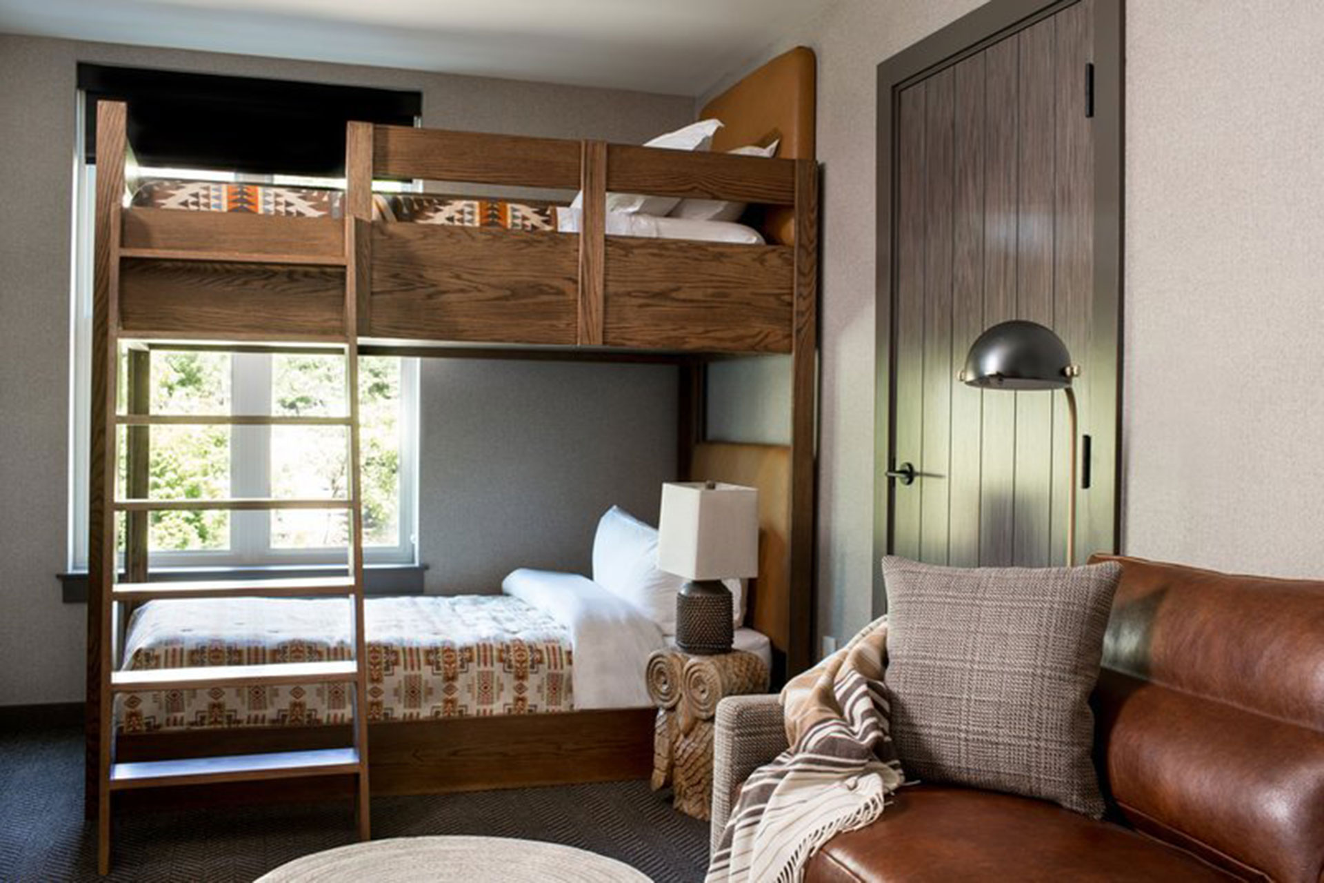 Bunk Bed Room at the Kimpton RiverPlace Hotel; Courtesy of Kimpton RiverPlace Hotel