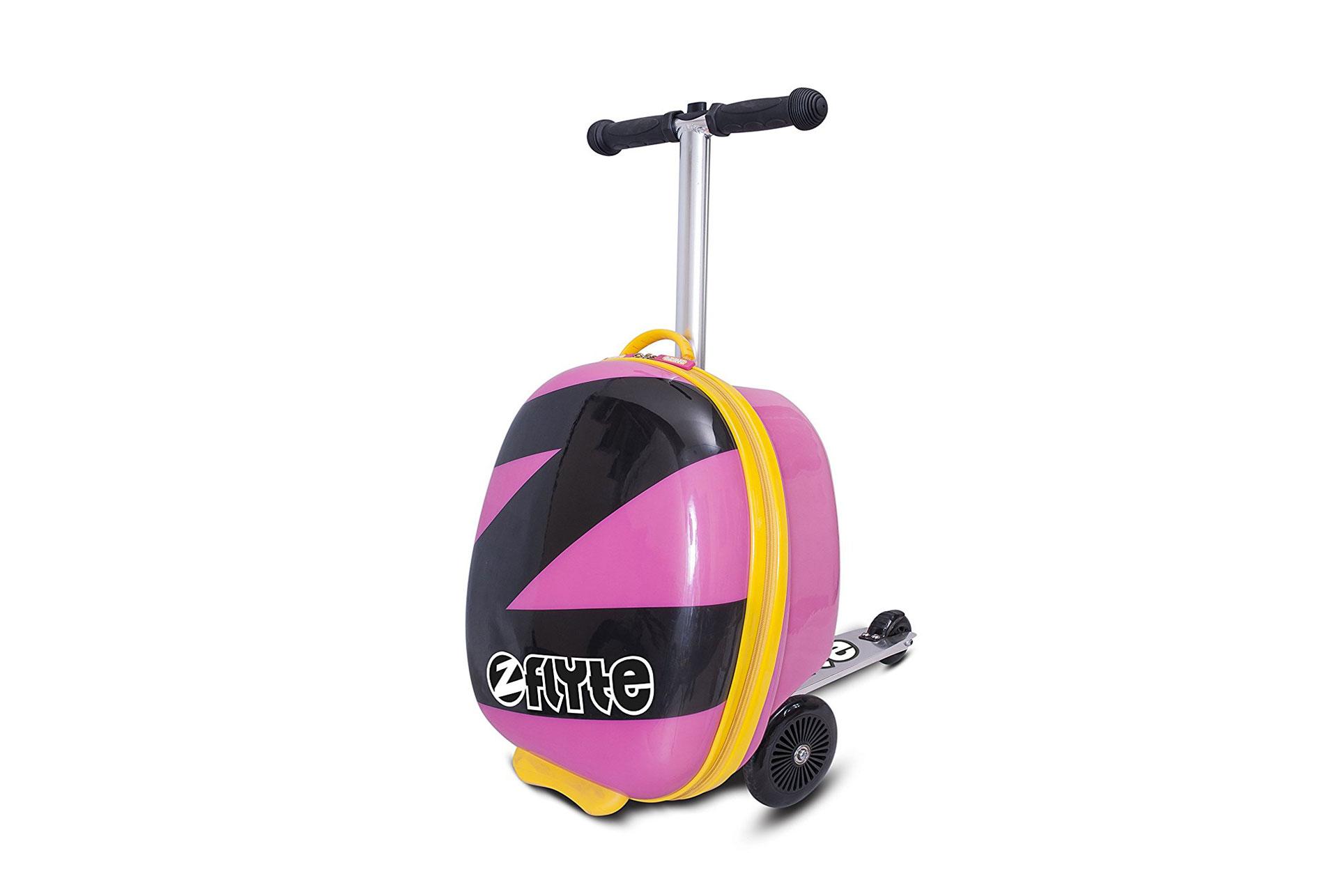 ZincFlyte Kids' Luggage Scooter; Courtesy of Amazon
