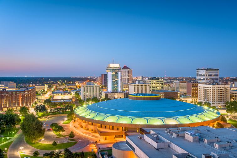 Wichita, KS; Courtesy of Sean Pavone/Shutterstock