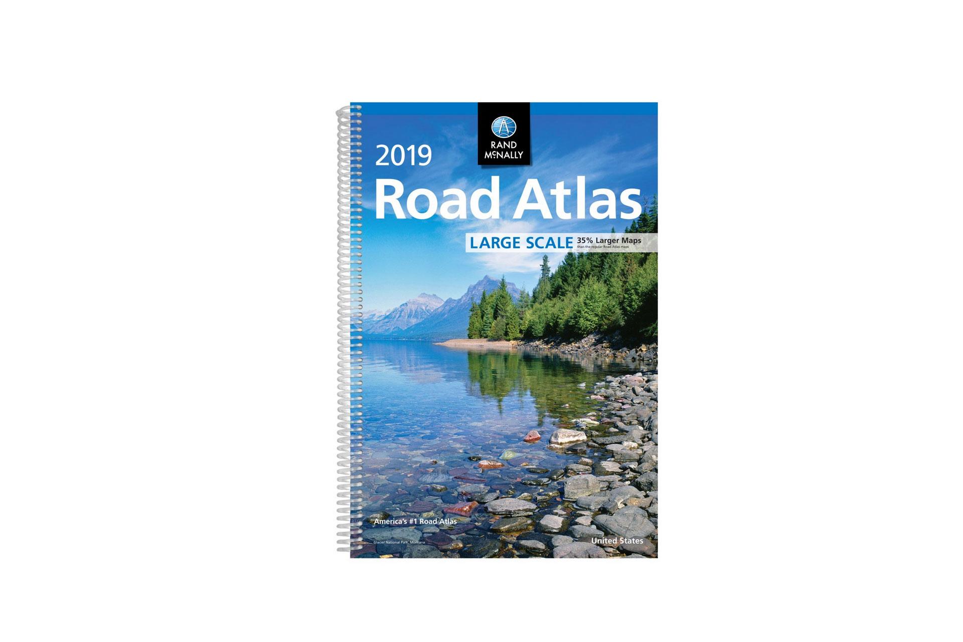 2019 Road Atlas; Courtesy of Amazon