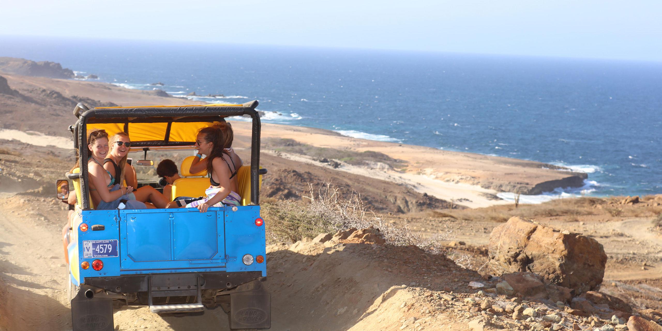 Jeep Tours with ABC Tours Aruba; Courtesy of ABC Tours Aruba
