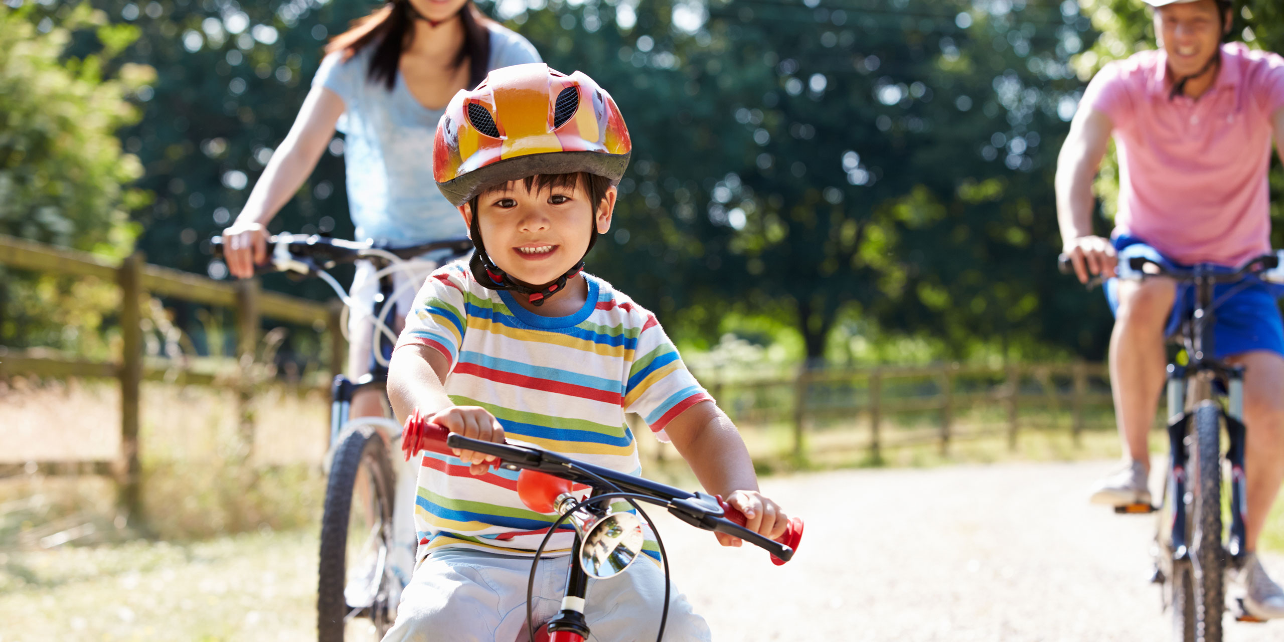 Child Biking; Courtesy of Monkey Business Images/Shutterstock.com