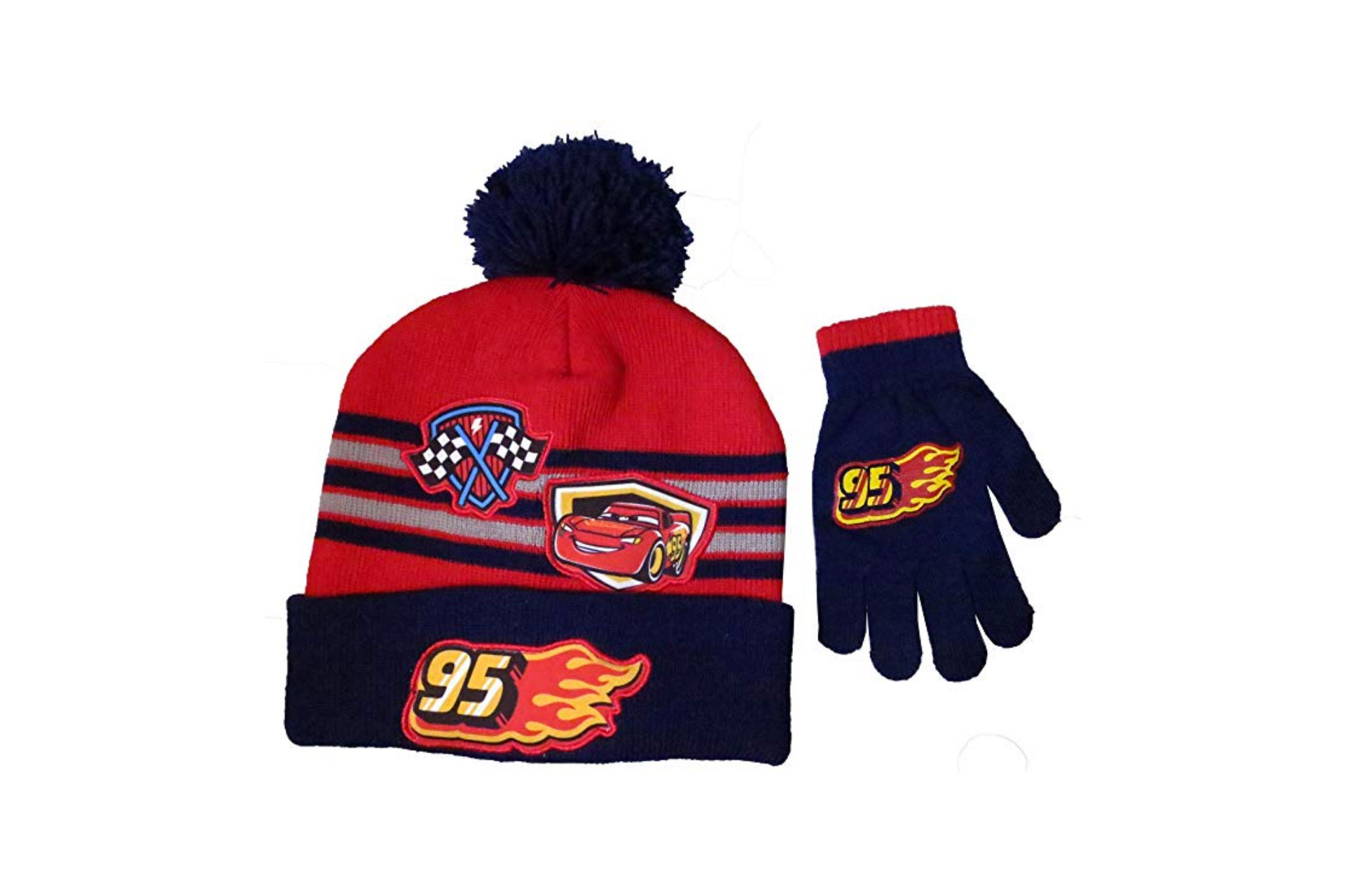 Disney Cars Hat and Gloves; Courtesy of Amazon