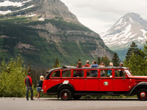 Red Jammer Tour in Glacier National Park