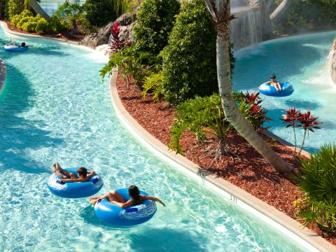 Lazy River at Hilton Orlando; Courtesy of Hilton Orlando