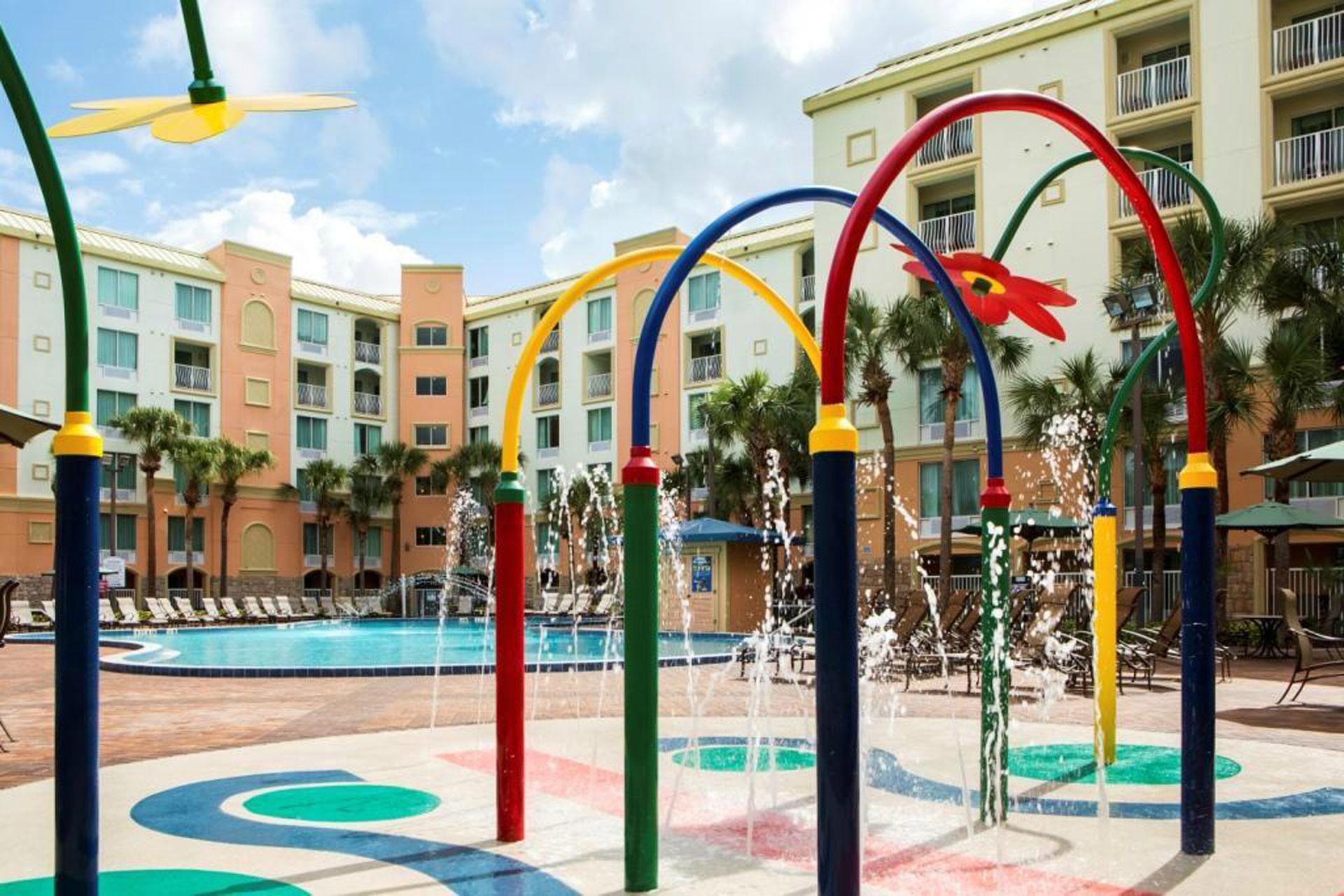Spray Ground at Holiday Inn Buena Vista in Orlando