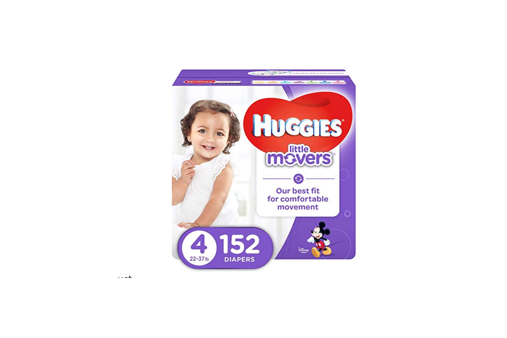 Huggies Little Movers; Courtesy of Amazon