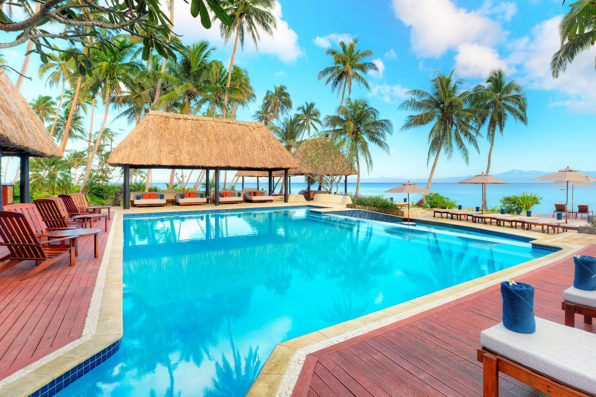 Pool at Jean-Michel Cousteau Resort; Courtesy of Jean-Michel Cousteau Resort