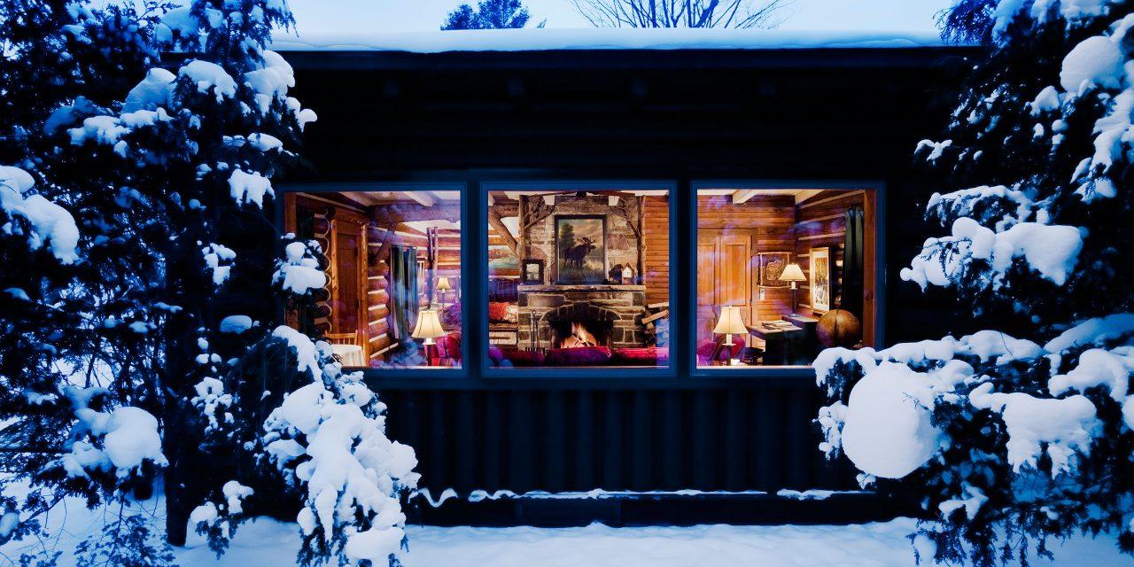 Cozy Cabin at Lake Placid Lodge; Courtesy of Lake Placid Lodge