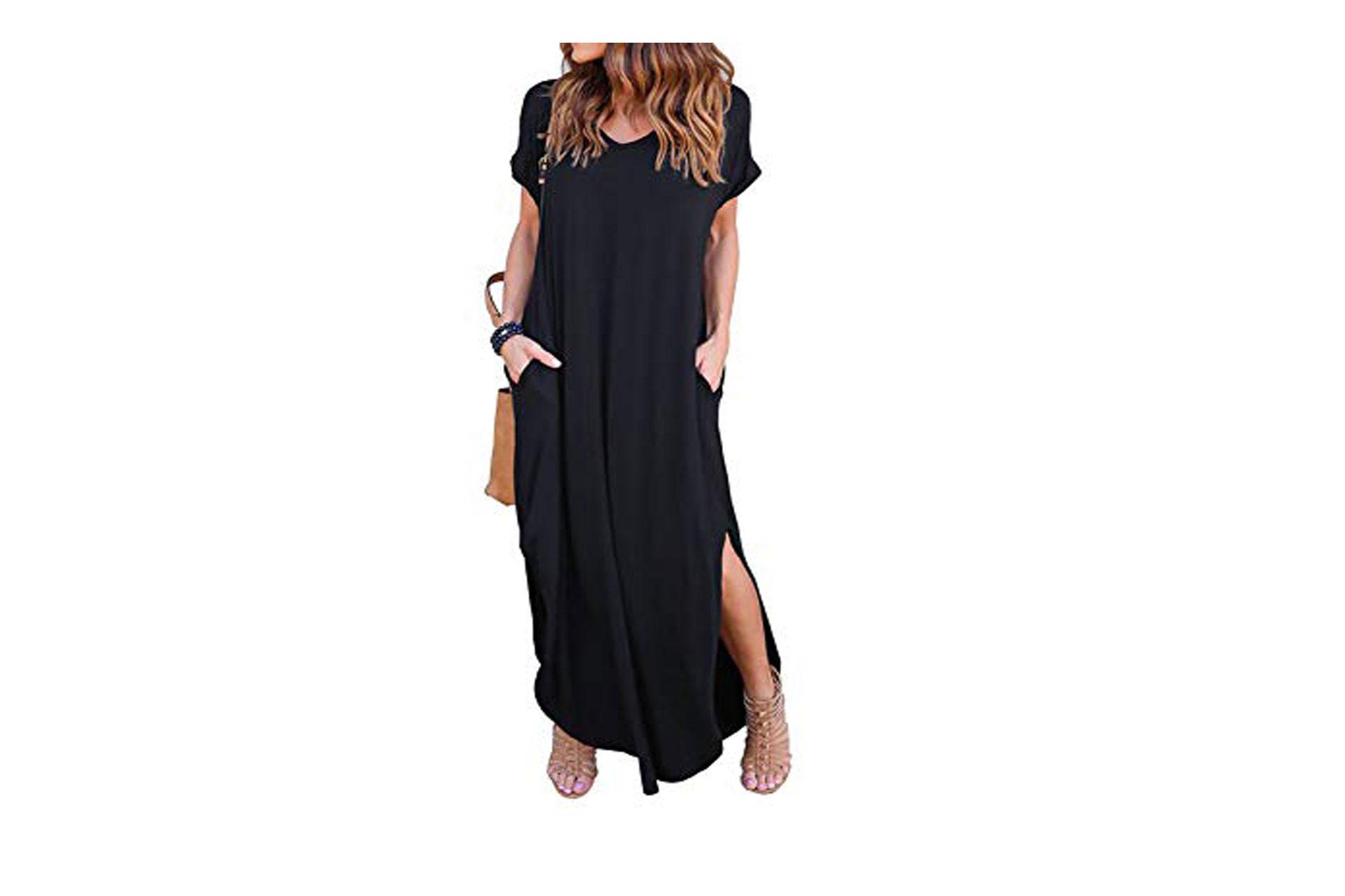 Women's Black Dress; Courtesy of Amazon
