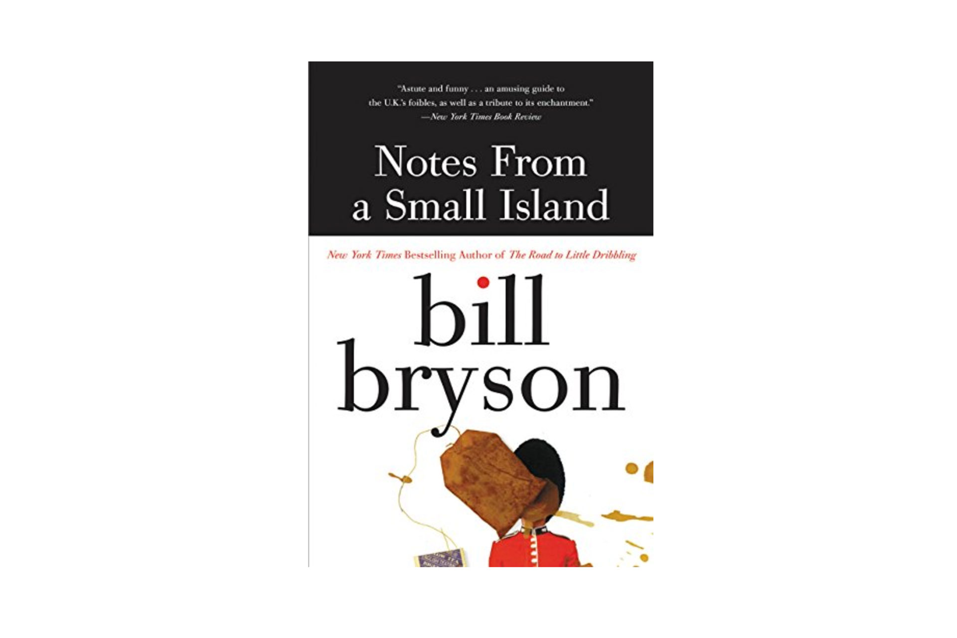 Notes From a Small Island Book; Courtesy of Amazon