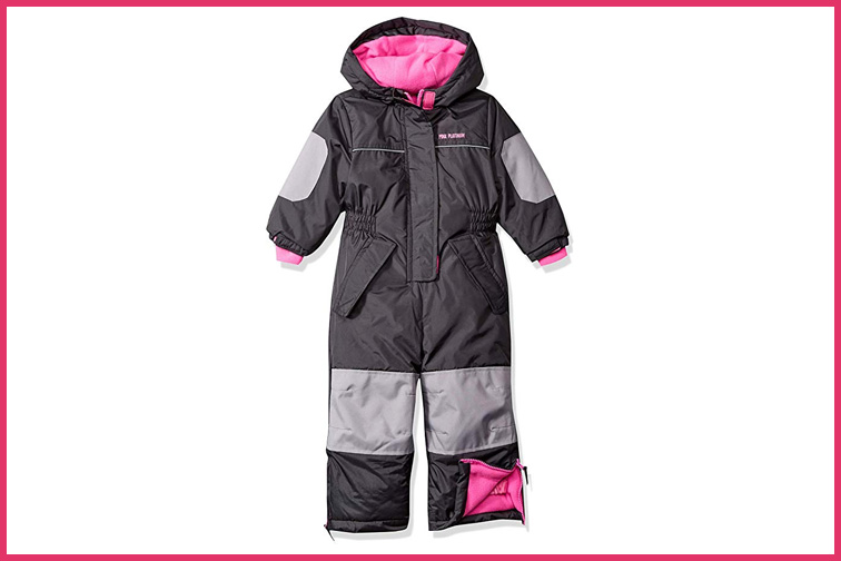 Pink Platinum Girls' Snowmobile Snowsuit; Courtesy of Amazon