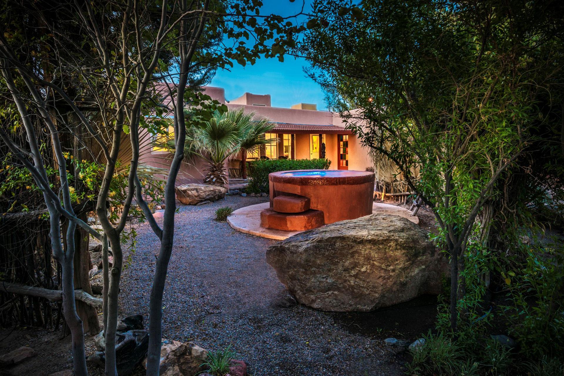 Hot Tub at Sierra Grande Lodge & Spa; Courtesy of Sierra Grande Lodge & Spa