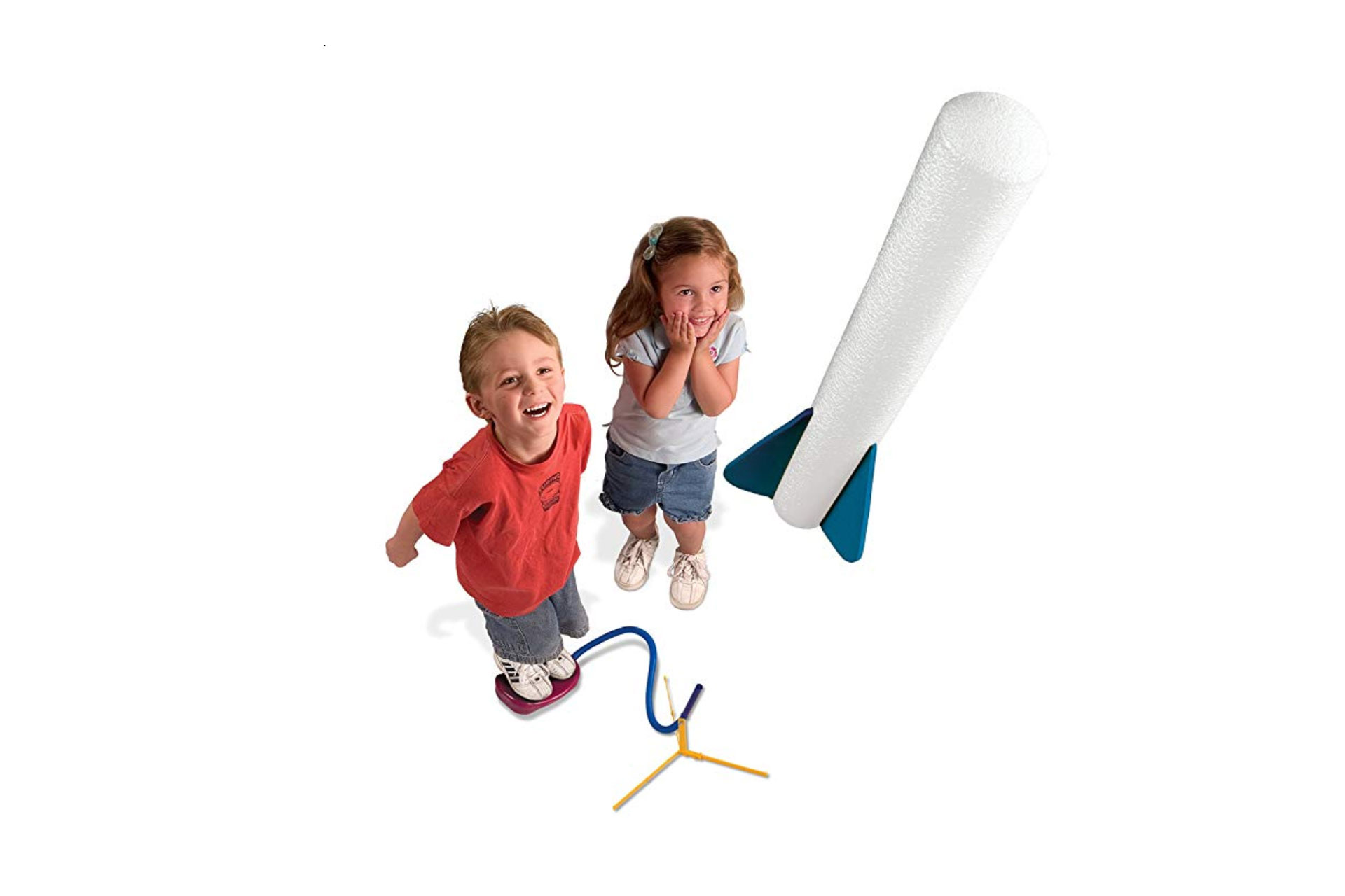Kids Playing with Stomp Rockets; Courtesy of Amazon