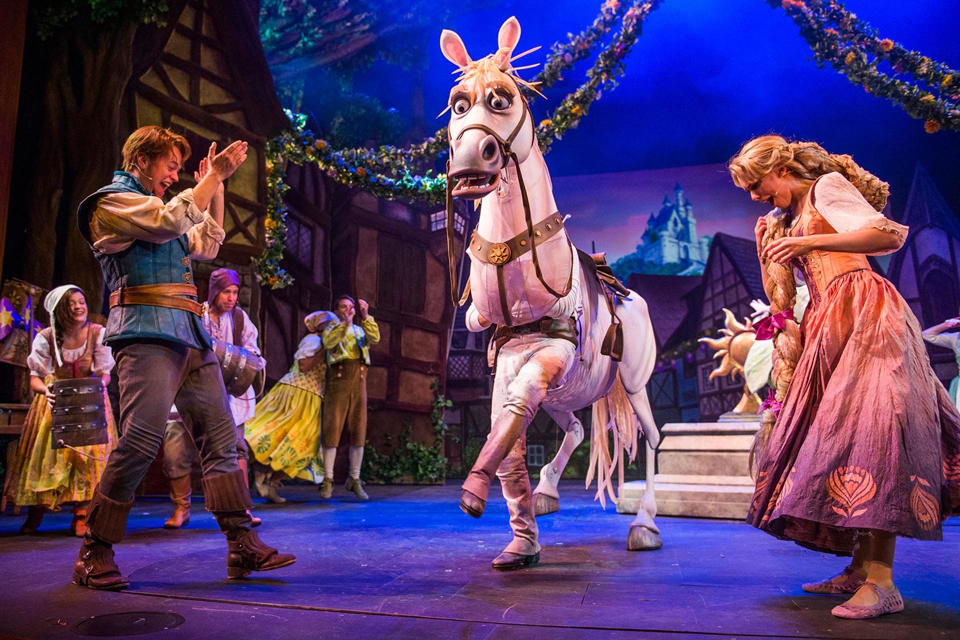 """Tangled"" Show on Disney Magic; Courtesy of Disney"