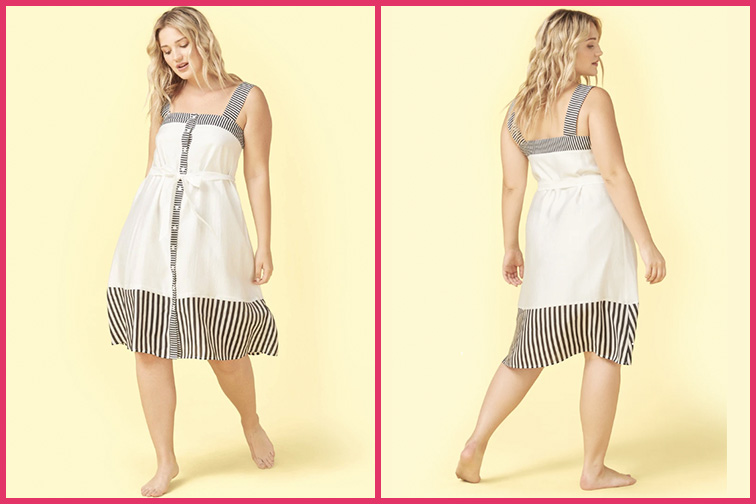 The Globe Trotter Travel Dress; Courtesy of Summersalt