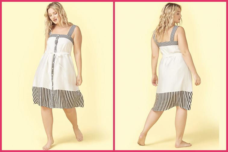 The Globe Trotter Travel Dress; Courtesy of Summersalt