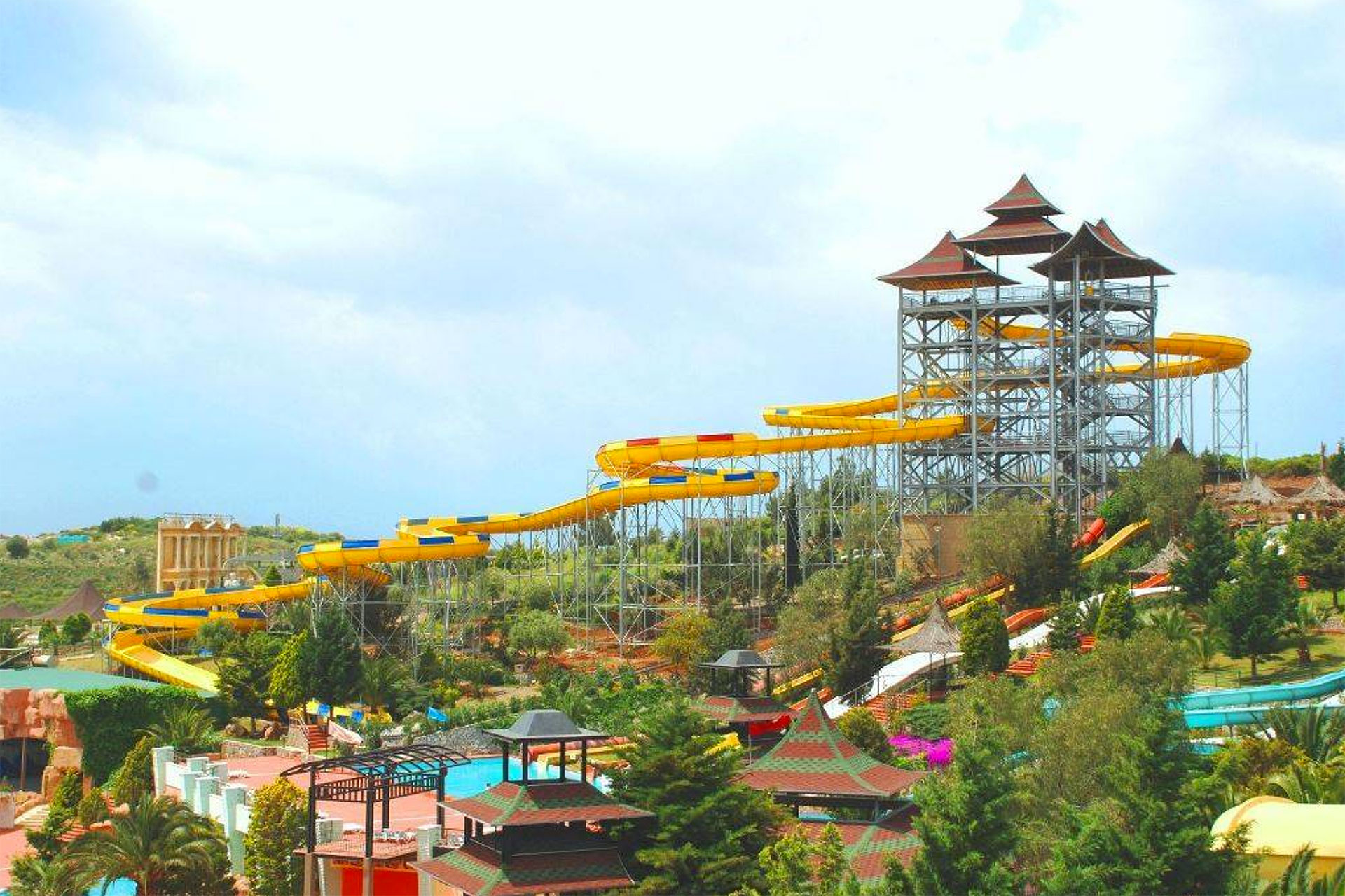 Adaland Water Park in Turkey; Courtesy of Adaland Water Park