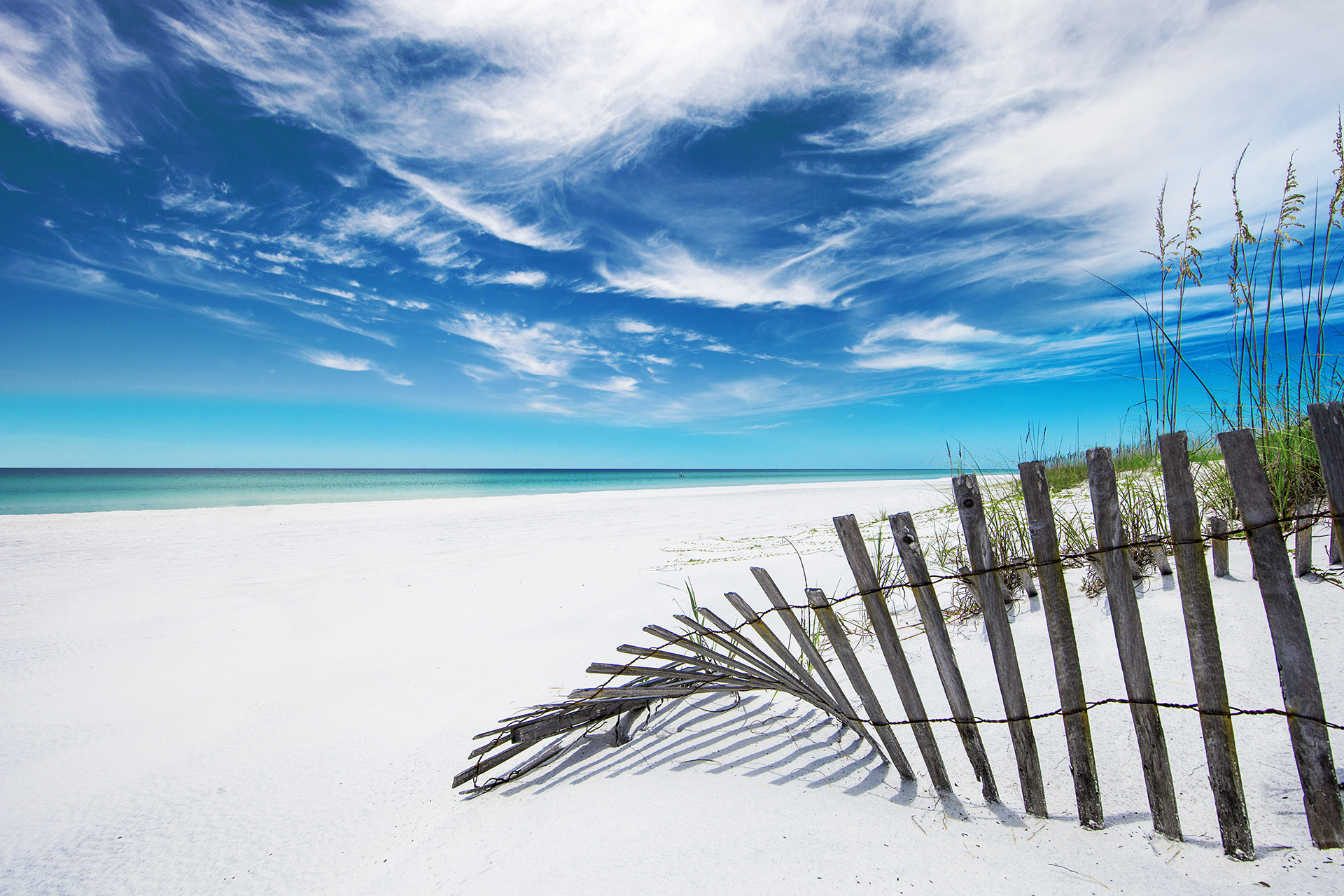 Beach in South Walton, Florida; Courtesy of Visit South Walton