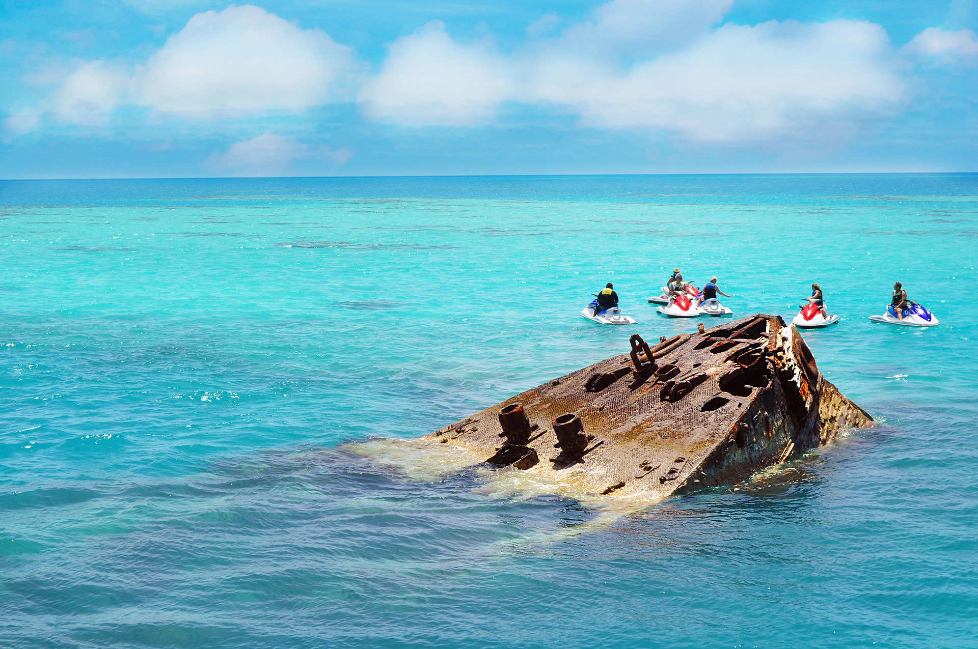 Bermuda Shipwreck; Courtesy of orangecrush/Shutterstock.com