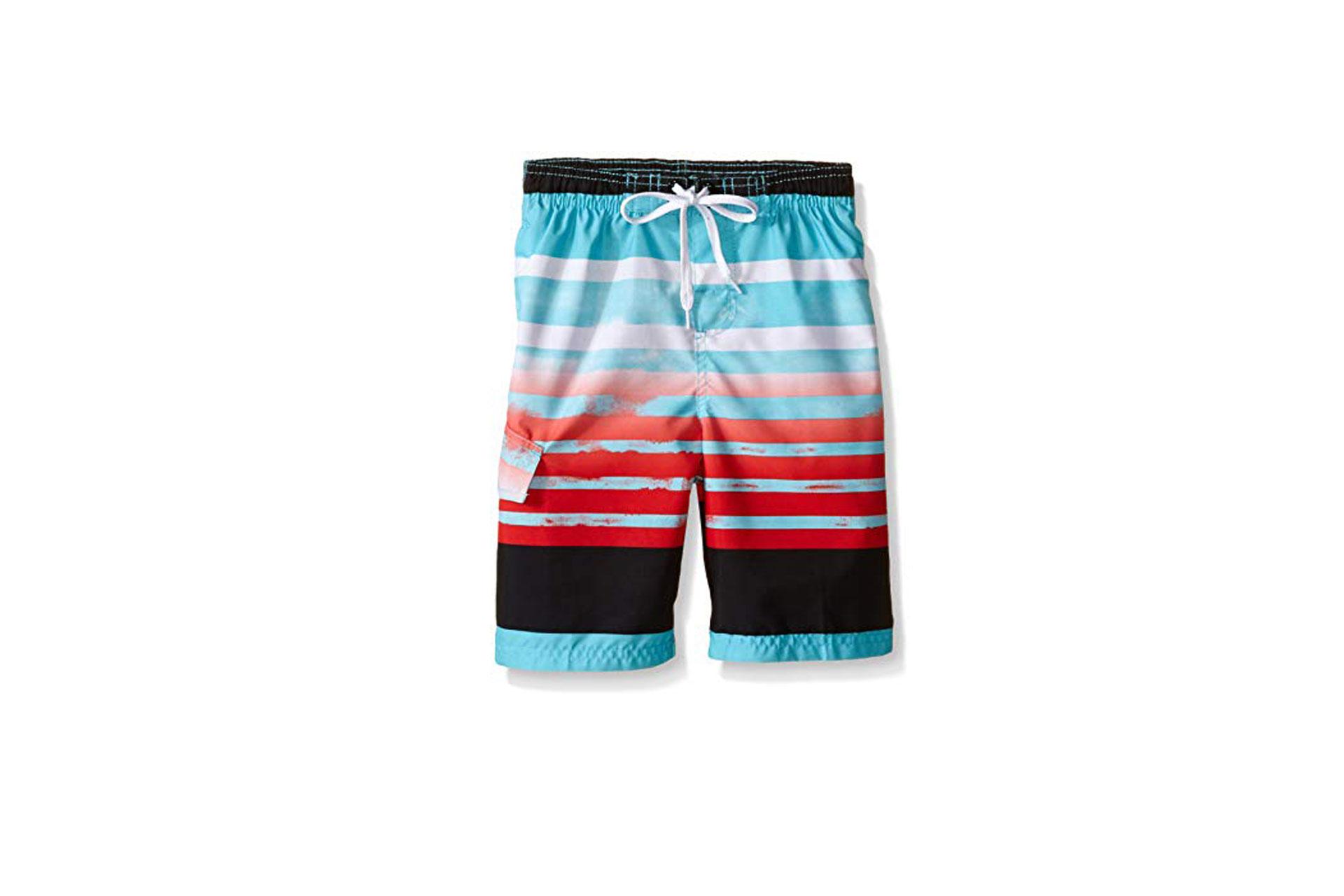 Boys Swim Trunks; Courtesy of Amazon