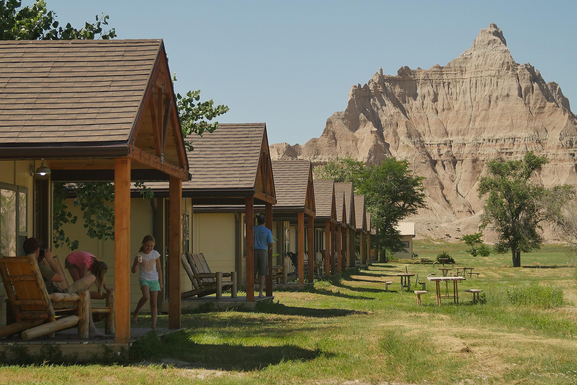 Cedar Pass Lodge in Badlands National Park; Courtesy of Cedar Pass Lodge