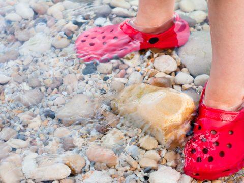 Kids Crocs in Water; Courtesy of Tom Gowanlock/Shutterstock.com