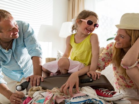 Family Packing; Courtesy of Aleksandra Suzi; Courtesy of Shutterstock.com