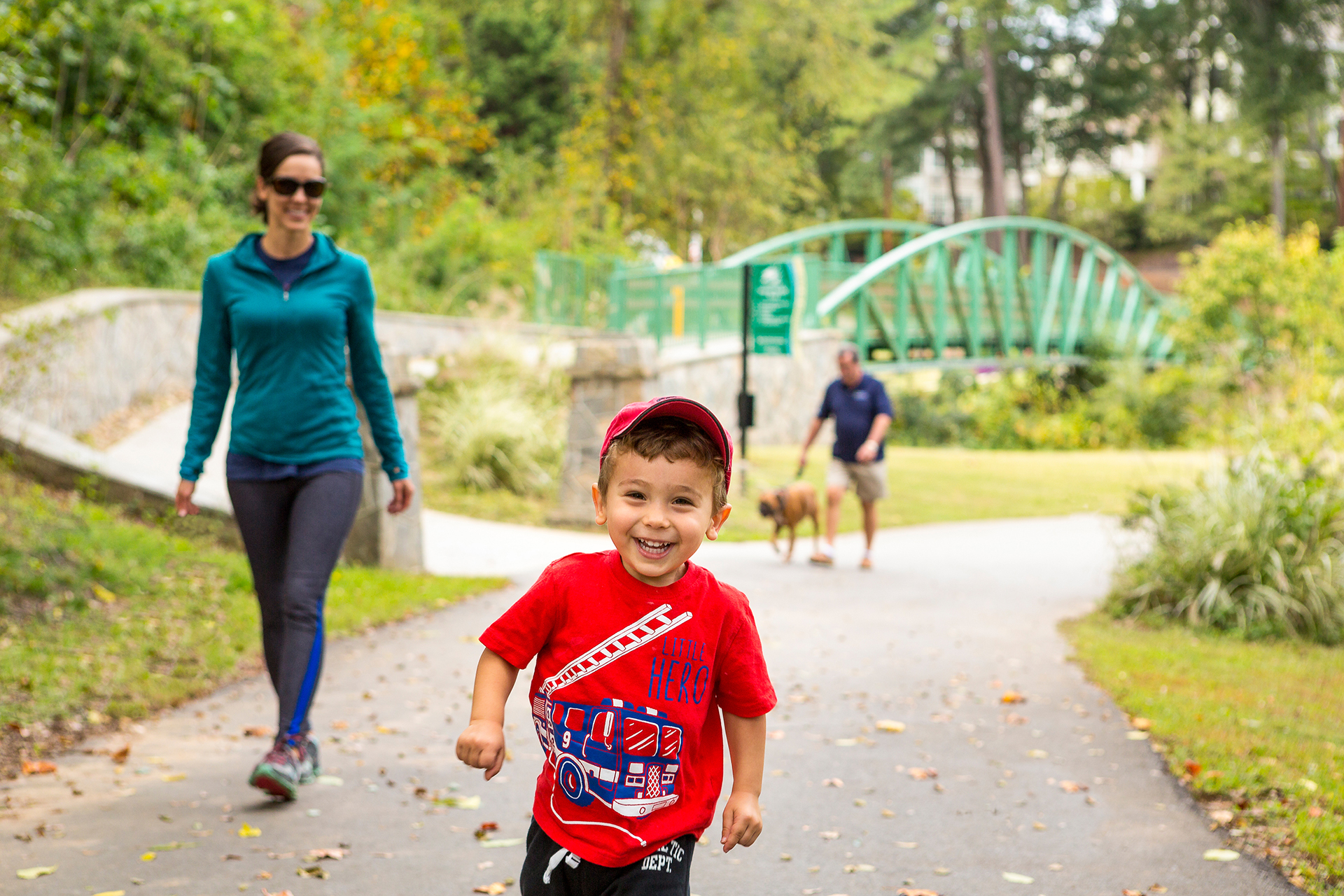 GHS Swamp Rabbit Trail in Greenville, South Carolina; Courtesy of Visit Greenville SC