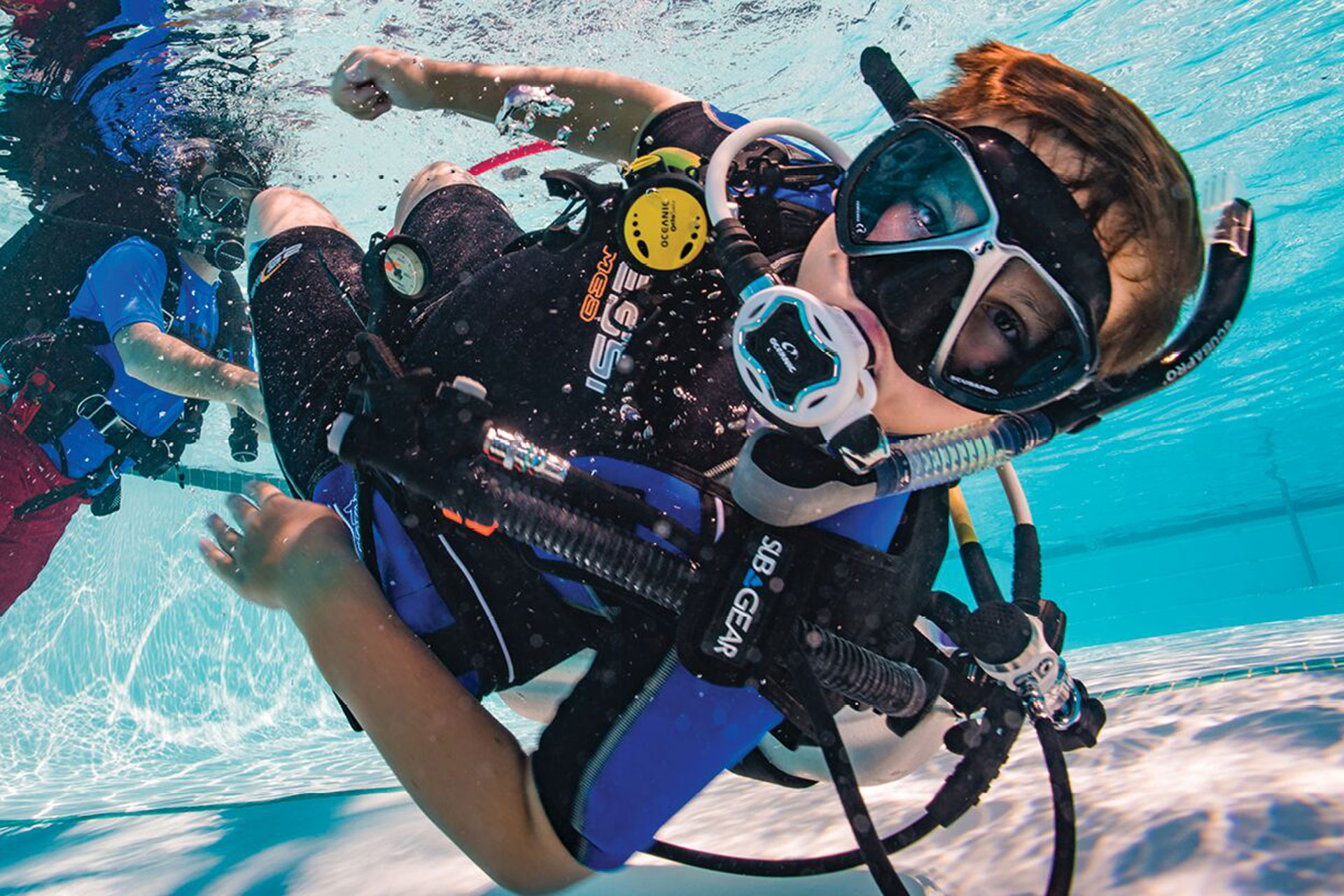Kid Scuba Diving; Courtesy of PADI