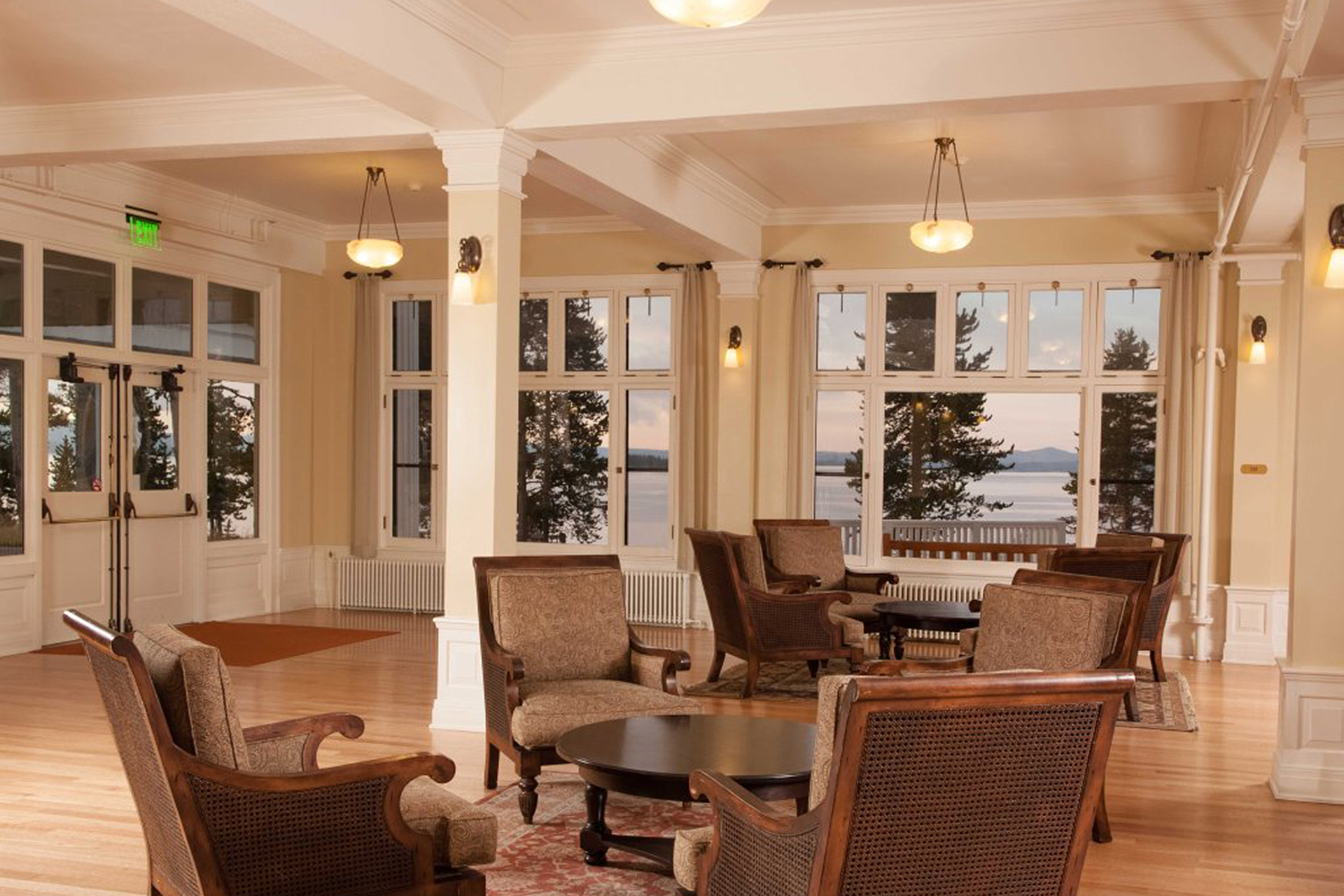 Lake Yellowstone Hotel and Cabins in Yellowstone National Park; Courtesy of Lake Yellowstone Hotel and Cabins