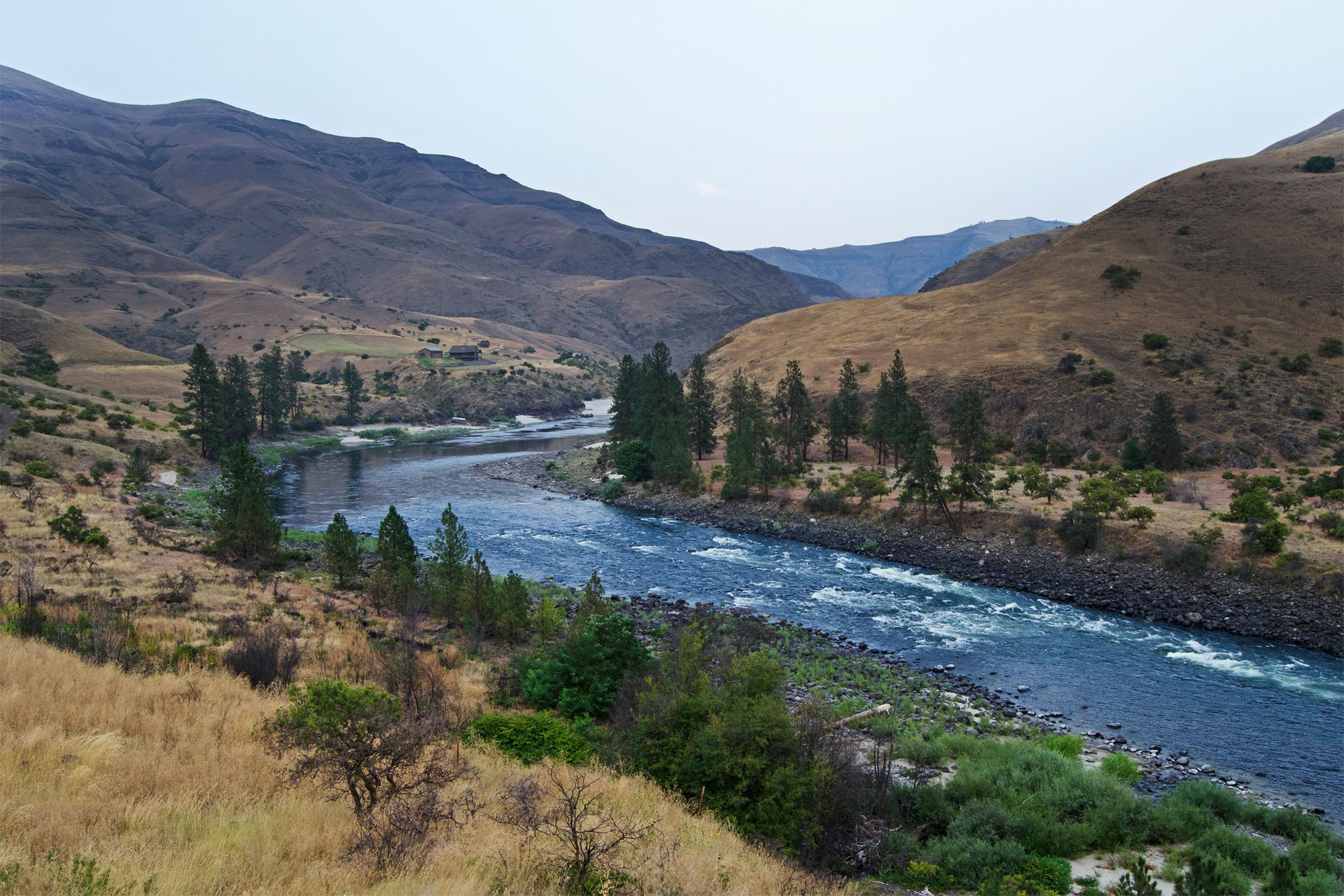 Lower Salmon River in Idaho; Courtesy of Jim Black/Shutterstock.com