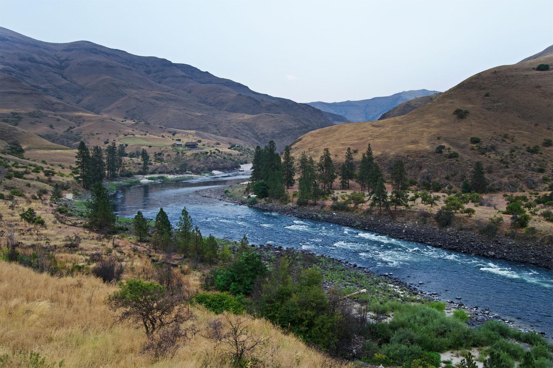 Lower Salmon River in Idaho; Courtesy of Jim Black/Shutterstock.com