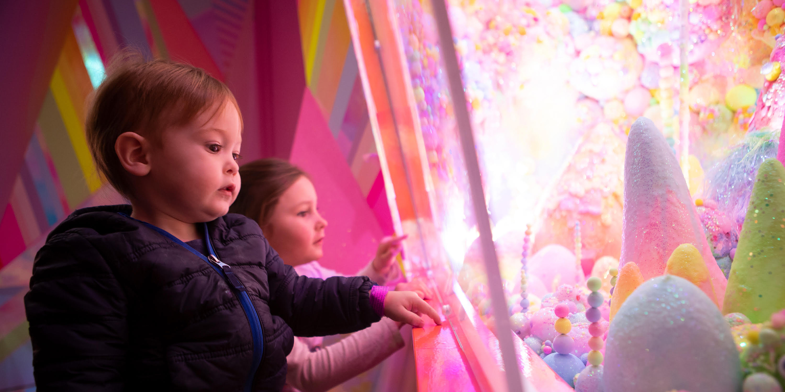 Kids at Meow Wolf in Santa Fe, New Mexico; Courtesy of Meow Wolf
