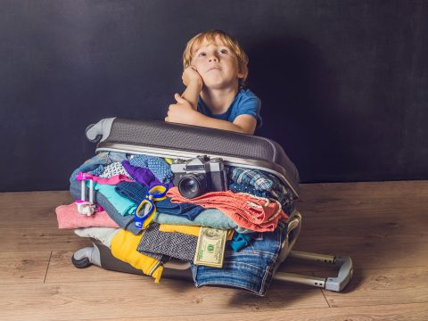 Packing Too Much; Courtesy of Elizaveta Galitckaia/Shutterstock.com