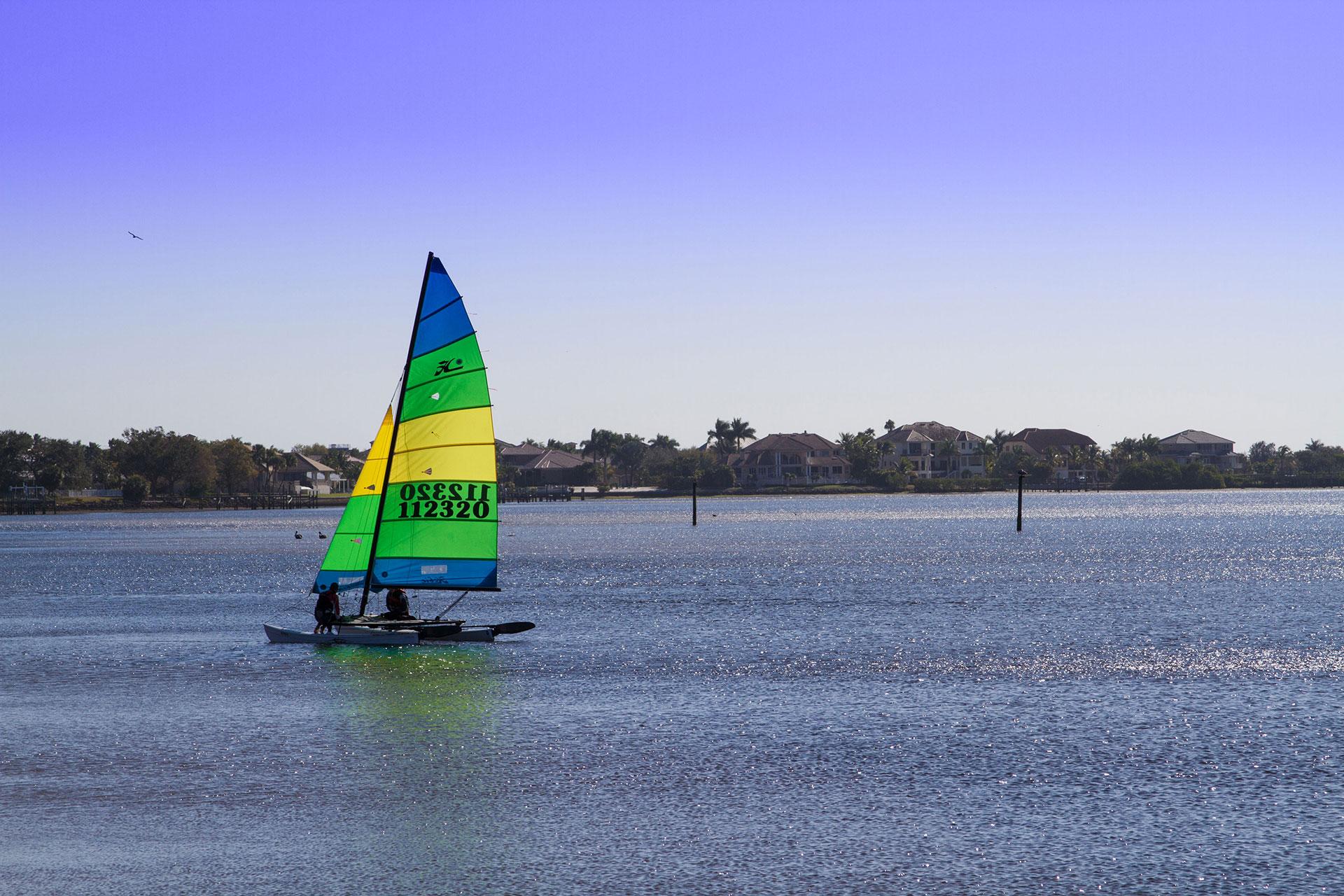 Charlotte Harbor in Punta Gorda, Florida; Courtesy of Punta Gorda / Englewood Beach Visitor & Convention Bureau