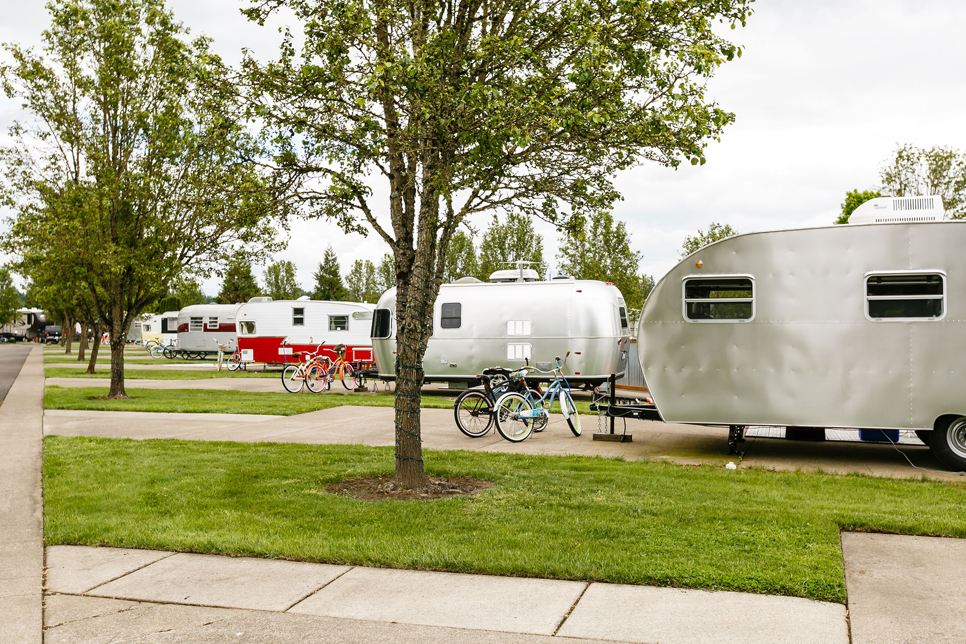 The Vintages Trailer Resort in Dayton, Oregon